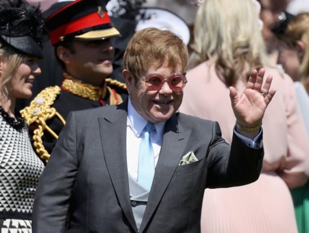 Elton John zingt op receptie van prins Harry en Meghan