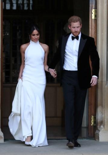 Prins Harry en Meghan in andere outfit naar avondfeest