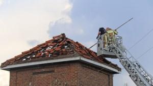 Brustem opgeschrikt door zware blikseminslag: ruim 200 gezinnen tijdlang zonder stroom