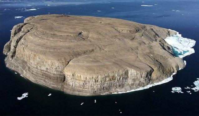 Canada en Groenland willen ruzie over eiland in het noordpoolgebied bijleggen