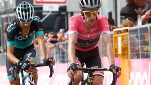 Yates toont eerste teken van zwakte, Dumoulin maakt bijna halve minuut goed op roze trui
