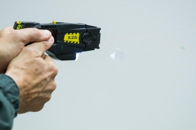 Taser als politiewapen is onwettelijk
