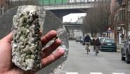 Brokstukken vallen van E17-viaduct in Gentbrugge