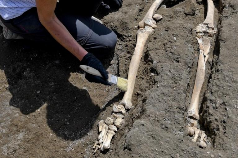 """Archeologen doen in Pompeii """"dramatische en uitzonderlijke"""" vondst"""