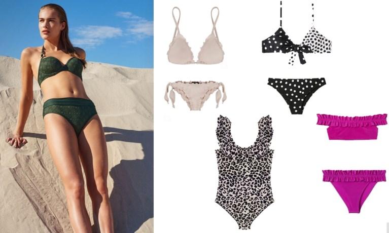 In stijl op het strand en aan het zwembad: vijf badmodetrends voor deze zomer