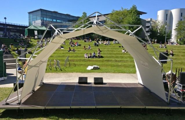 Innovatie op bedrijfsevents en festivals: bouw eens een festivaltent