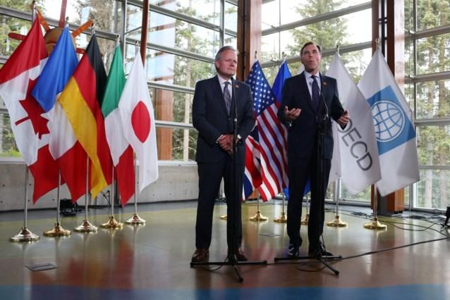 """Trump na bijeenkomst financiënministers: """"VS al genoeg opgelicht"""""""