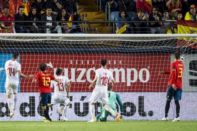 Ook Spanje kan oefenpot voor eigen volk niet winnen