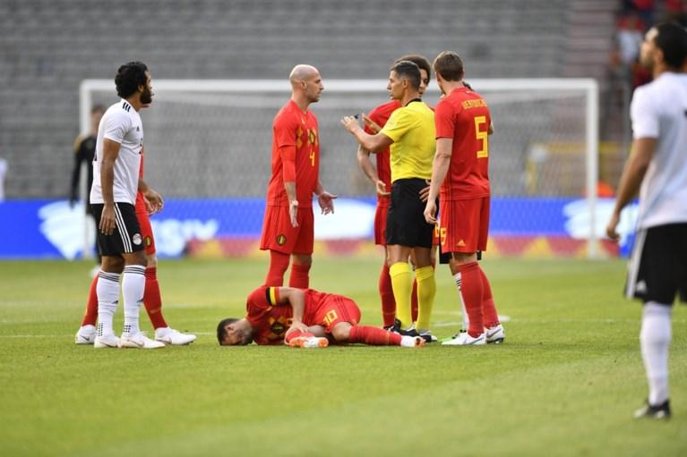 Hazard loodst Rode Duivels naar logische zege tegen Egypte, maar de twijfels zijn nog niet weg