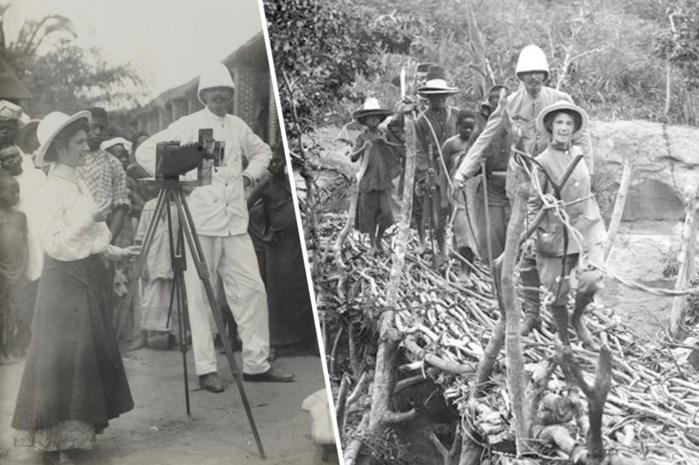 Het vergeten verhaal van Gabrielle Deman, de eerste blanke vrouw die Kongo doorkruiste