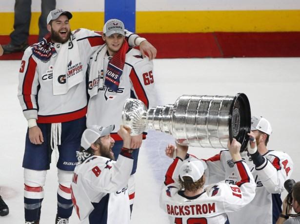 Dan toch geen stunt: Washington Capitals maken einde aan sprookje en winnen de Stanley Cup