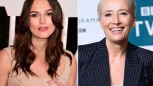 De Britse Queen beloont Emma Thompson en Keira Knightley met prestigieuze onderscheiding