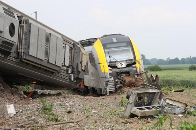 Treinontsporing in Neufvilles: wagons zijn van sporen verwijderd