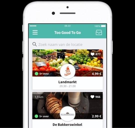 App tegen voedselverspilling redt 15.000 maaltijden van de vuilnisbak