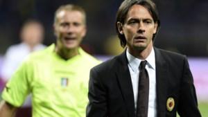 Pippo Inzaghi keert terug als coach in de Serie A
