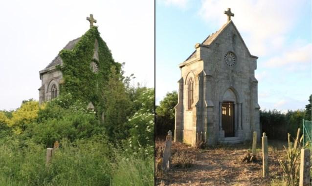 Verwaarloosde kapel is in oude glorie hersteld door groep vrijwilligers