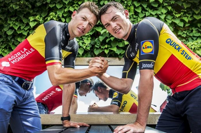 """Lampaert en Naesen nemen afscheid van kampioenenjaar: """"Een Belgische prof die zegt dat het BK hem niet interesseert, is een idioot"""""""