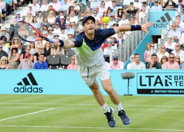 Andy Murray verliest op ATP Queen's eerste wedstrijd sinds Wimbledon 2017