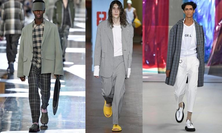 Van hele korte shorts tot losse pakken: dit was de mannenmodeweek in Milaan