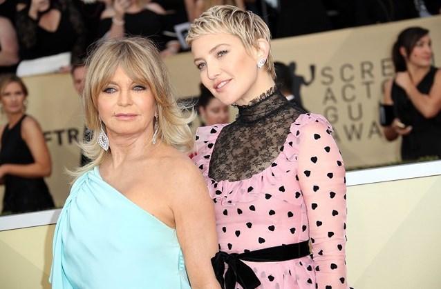 Zo ziet Goldie Hawn eruit op haar 72ste
