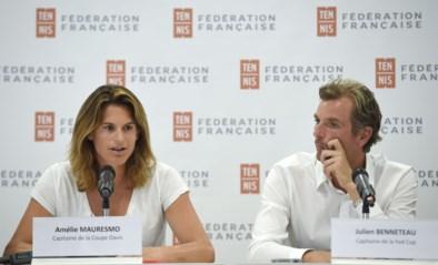 Amélie Mauresmo (Davis Cup) en Julien Benneteau (Fed Cup) vervangen Noah als Franse coach