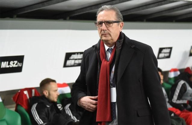 """Leekens reageert op ontslag bij Hongarije: """"Ik dacht aan de lange termijn, bond wilde direct resultaten"""""""