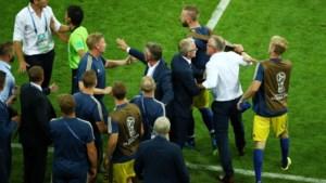 Zweedse bondscoach is kwaad omdat Duitsers voor zijn neus vierden
