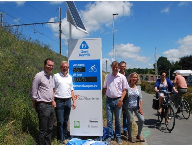 Tot 1.500 fietsers per dag langs fietspad aan station