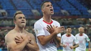 WK 2018 - Kosovaren en Albanezen willen boetes Xhaka, Shaqiri en Lichtsteiner betalen