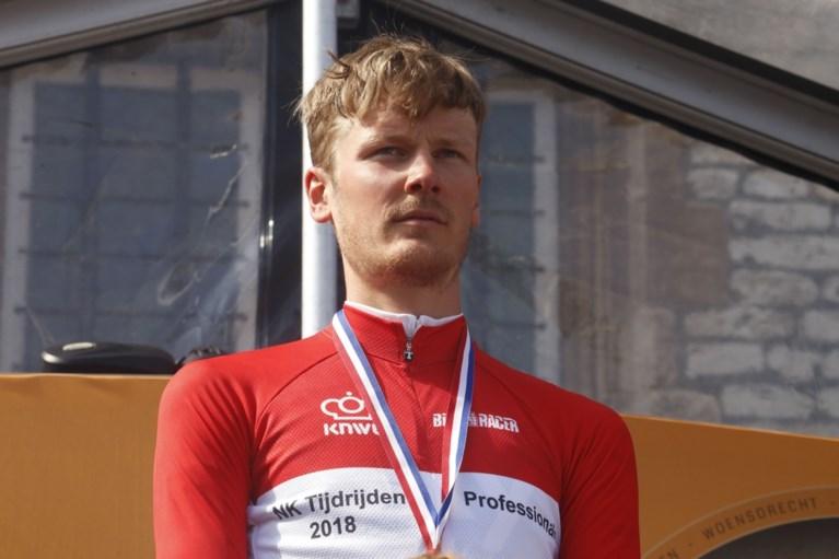 Dylan van Baarle is Nederlands kampioen tijdrijden