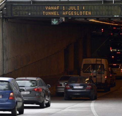 Leopold II-tunnel twee maanden volledig dicht