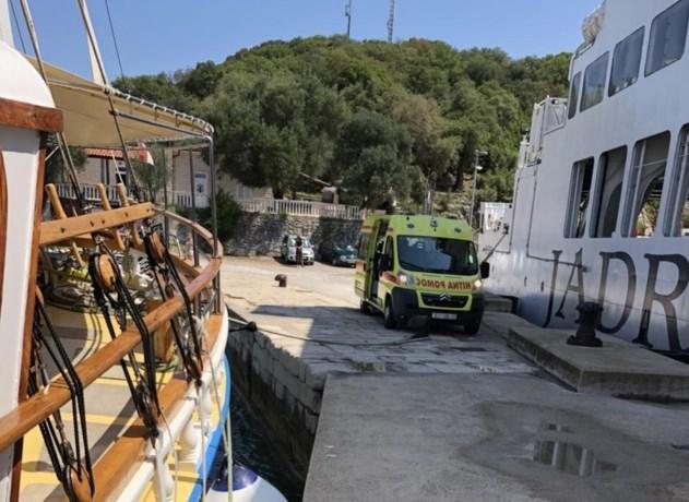 76-jarige Belg om het leven gekomen tijdens pleziervaart in Kroatië