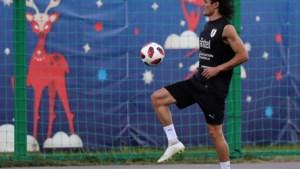 """Uruguay-coach Oscar Tabarez: """"Sorry, ik kan jullie niets vertellen over Edinson Cavani"""""""