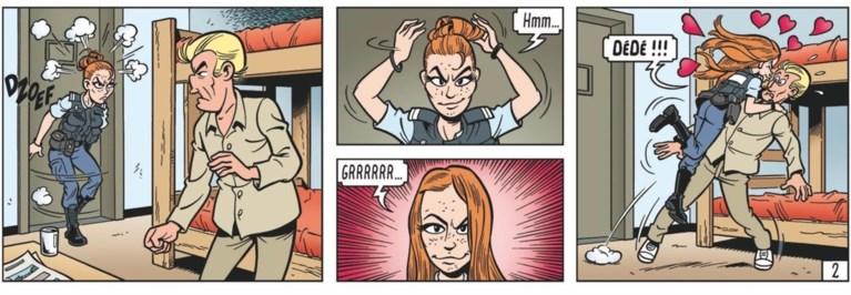 Clara Cleymans wordt een stripfiguur