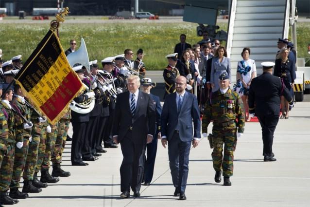 Wat u nog niet wist over de komst van president Trump naar Brussel