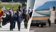 Deze keer geen rode loper en fanfare: Trump krijgt sobere ontvangst in Brussel