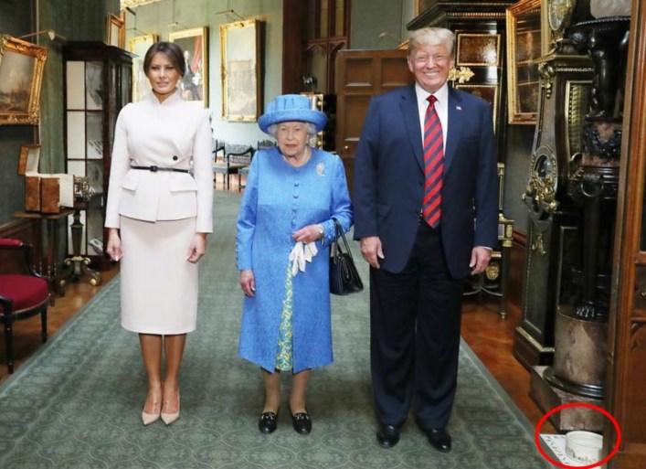 Een staatsfoto met Trump of met koning Filip? Zoek het ene grote verschil