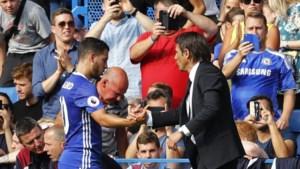 Chelsea zette coach Conte buiten om Hazard, Courtois en Willian te houden