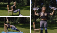 Met een stoel en vier flesjes water: zo krijg je strakkere armen in tien minuten
