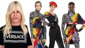 Versace schakelt 54 modellen in voor 'langste campagne ooit'