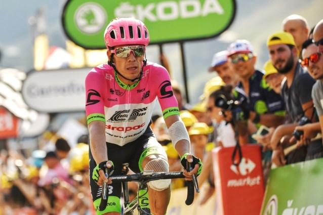 Vorig jaar nog tweede achter Chris Froome, nu opgave in tweede Tourweek: Rigoberto Uran gooit de handdoek