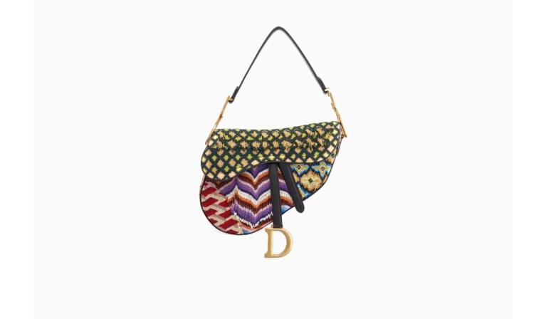 Dior brengt zijn iconische saddle bag terug