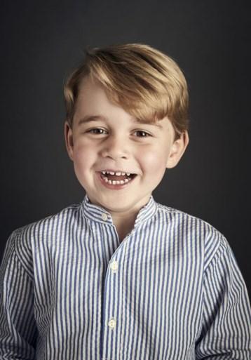 Kate en William vieren verjaardag van prins George met nieuwe foto