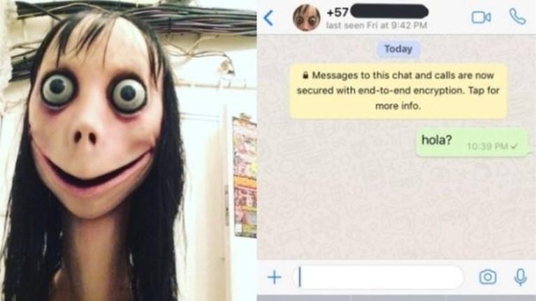 """Autoriteiten waarschuwen voor griezelige Whatsapp-uitdaging: """"Doe er niet aan mee"""""""