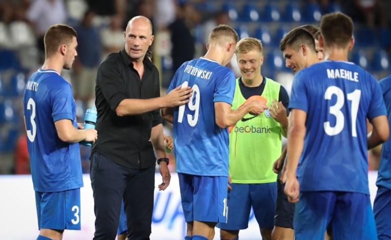 Racing Genk dolt en maakt terugwedstrijd in Luxemburg overbodig in voorronde Europa League