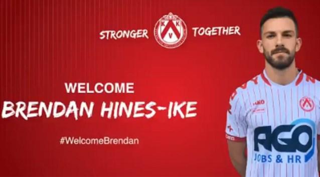 KV Kortrijk verwelkomt Amerikaanse verdediger Hines-Ike