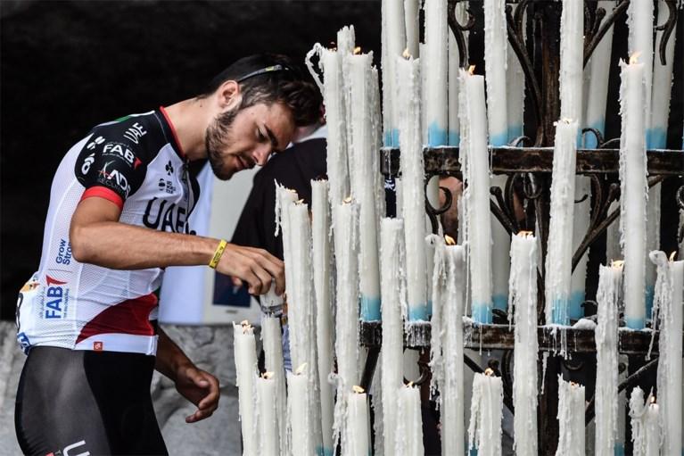 """Diepgelovige Julien Vermote brandt voor bergrit kaars in Lourdes: """"Mirakels kunnen altijd"""""""