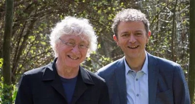 Dichter Karel Sergen laat zich inspireren door weerman Frank Deboosere