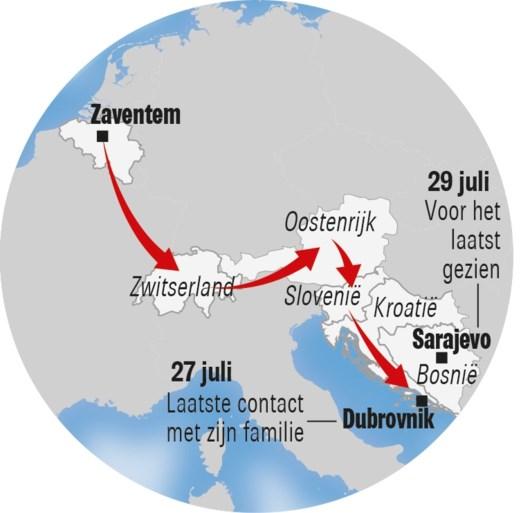 """Gert-Jan (23) kwam niet naar huis na rondreis door Europa: """"Zolang niets van zich laten horen, dat is niets voor hem"""""""