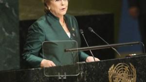Chileense oud-presidente Bachelet benoemd als VN-mensenrechtencommissaris